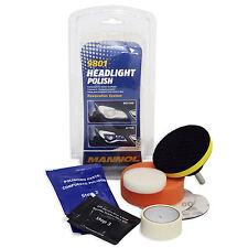 Scheinwerfer Aufbereitungs-Kit Reparatur-Set Kunststoffgläser inkl. Versiegelung