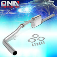 FOR 2013-2015 TOYOTA TACOMA CREW/EXTENDED 2.7L STAINLESS CATBACK EXHAUST SYSTEM