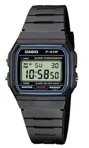 Casio Collection Unisex Digital Watch F-91W