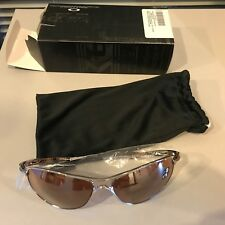 Oakley Crosshair OO4060-02 Iridium Oval Sunglasses