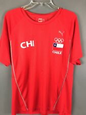 Chile PUMA Soccer Jersey Pan American Games 2011 Red XL SNAG ON FRONT
