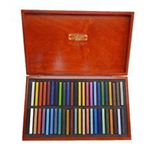 KOH-I-NOOR ARTISTS OIL CHALKS - Wooden Box of 48 Assorted Colour Oil Chalks