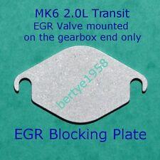 EGR Valve Blanking Plate Transit 2.0 TDDi TDCi EGR Valve Mounted Above Gearbox