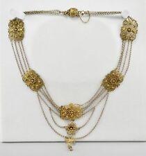 Necklace No Stone Silver Victorian Fine Jewellery
