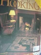 Rug Hooking Magazine September October 1996 Grace's Bouquet/Lonesome Tree/Olde W