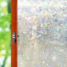 17.7x78.7 Window Glass Door Stickers Decals Film Mosaics Styles Roll 3D Color