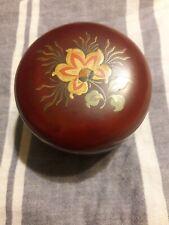 1940s Maruni Lacquerware Coasters Occupied Japan 5 in set
