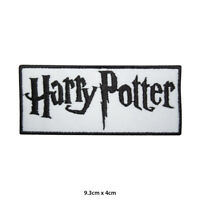 Harry Potter Movie Comic Embroidered Patch Iron on Sew On Badge For Clothes etc