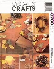 McCall's Harvest Decorations Pattern 3780 UNCUT