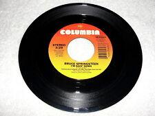 "Bruce Springsteen ""I'm Goin' Down"" 45 RPM, 7"" Single, 1984 Rock, VG"