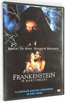 DVD FRANKENSTEIN DI MARY SHELLEY 1994 Horror Robert De Niro Kenneth Branagh