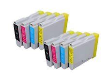 SET 8 COMPATIBLES FAX1360 1560 1860C 1960C 2480C DCP130C 135C 150C LC970