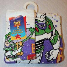 Toy Story Buzz Lightyear 2 Piece Bath Towel and Washcloth Set!