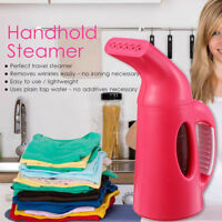 HANDHELD PORTABLE GARMENT STEAMER PROFESSIONAL FABRIC CLOTHES IRON HEAT  AU1