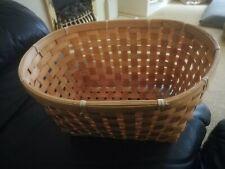 Oval Wicker Basket