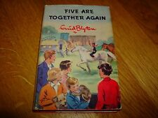 ENID BLYTON-FIVE ARE TOGETHER AGAIN-1ST-SIGNED-1963-HB-VG-H & S-VERY RARE
