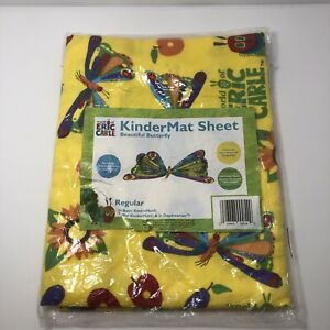 KinderMat Sheet Eric Carle Hungry Caterpillar Regular Pillowcase Style Green