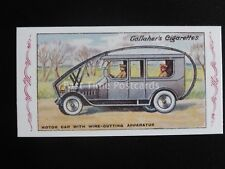 No.82 MOTOR CAR WITH WIRE CUTTING The Great War Series REPRO of Gallaher 1915