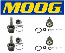 Moog Set of 2 Upper & 2 Lower Ball Joints Fits Dodge Ram 2500 2WD 3500 2WD 4WD
