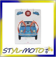 FIFF01 FIAT 500 CIABATTE INFRADITO (UOMO/DONNA N. ASSORTITI) UFFICIALE ORIGINALE