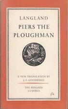 Piers the Ploughman (Penguin classics-no.L87) : William Langland