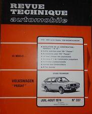 NEUF Revue technique VOLKSWAGEN VW PASSAT DIESEL RTA 337 1974 + RENAULT 16 TS