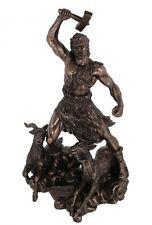 Thor Gott des Donners Odin s Sohn bronziert Figur Skulptur Odin Statue NEU