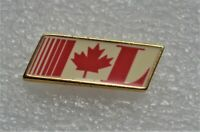 LIBERAL PARTY OF CANADA STYLIZED L FLAG 1990-04 LOGO PIN PINBACK ÉPINGLETTE