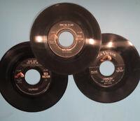 Elvis Presley 45 rpm records lot of 3