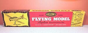 GUILLOWS DEHAVILAND CHIPMUNK FLYING BALSA MODEL KIT # 50-2