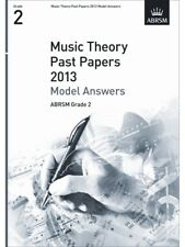 ABRSM Theory Of Music Exam 2013 Past Paper Model Answers Grade 2 Learn to BOOK