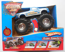 2006 Hot Wheels Monster Jam Iron Warrior Rip Strip Super Speeders J3187
