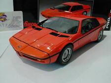 """Schuco ProR 00089 # BMW Turbo X1 Studie Baujahr 1972 in """" orange """" 1:18  NEU"""