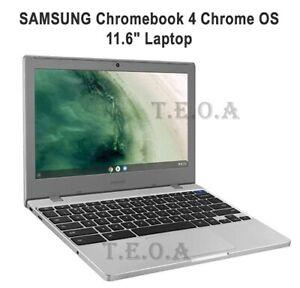 "SAMSUNG Chromebook 4 Chrome OS 11.6"" HD Intel Celeron N4000,4GB RAM,64 eMMC,NEW"