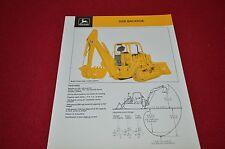 John Deere 9300 Backhoe Dealers Brochure DCPA4