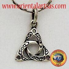 Ciondoli Triquetra o Triscele nodo celtico in argento 925