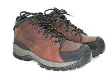 Teva Men's Mahogany Hiking Leather Walking Boots Waterproof Size 9