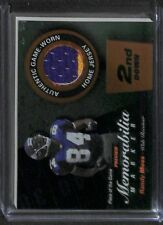 2000 Playoff Football Piece of the Game #RM84-P Randy Moss No 49 of 100
