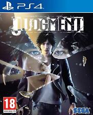 Judgment    PS4   ( come nuovo )