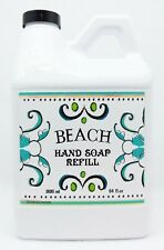 1 Home & Body Company BEACH Liquid Hand Soap Wash Italian Deruta 64 oz ea REFILL