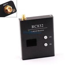 Boscam 40CH 5.8Ghz 600mW Audio Video TX FPV RC832 Wireless Receiver RX RP-SMA N!