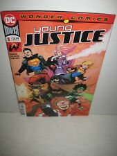 YOUNG JUSTICE #1 2ND PRINT GLEASON SUPERBOY TEEN LANTERN HEX BENDIS