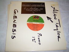 """12"""" - Genesis Invisible Touch LP Version - US Promo 1986 PR 897 # cleaned"""