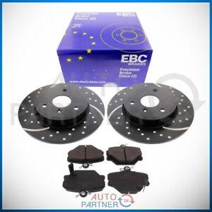 EBC für Smart 451 Fortwo Cabrio VA Turbo Groove Sportbremse Bremsscheiben Beläge