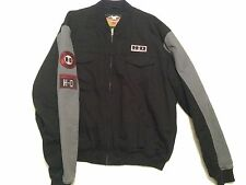 Harley Davidson Motorcycle H-D Motor CO. Jacket Coat 100% Cotton Canvas Men's XL