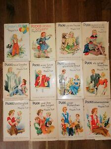 Pucki Magda Trott 60er Jahre  12 Bücher Titania Verlag Stuttgart