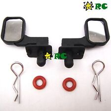 US Shipping 1/10 Side Rear Mirrors For RC Buggy Crawler Truck Body Shell Cover