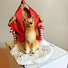 Finnish Spitz Christmas Ornament Gingerbread Dog House Ornament New