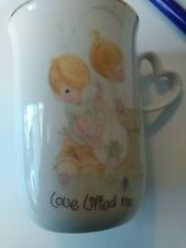 Vintage Precious Moments Coffee Tea Mug Cup 1978 Love Lifted Me - collectible