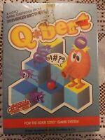 BRAND NEW Q*bert Qbert Video Game Cartridge Atari 5200 System Sealed In Box 1983